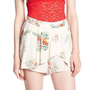 Free People Printed Night Watcher Shorts